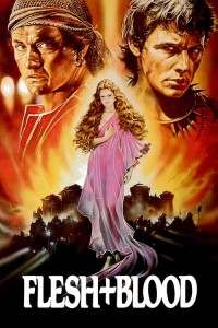 "Poster for the movie ""Flesh + Blood"""