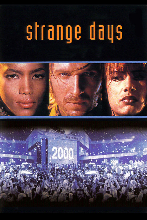 "Poster for the movie ""Strange Days"""