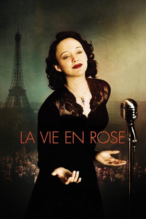 "Poster for the movie ""La Vie en Rose"""