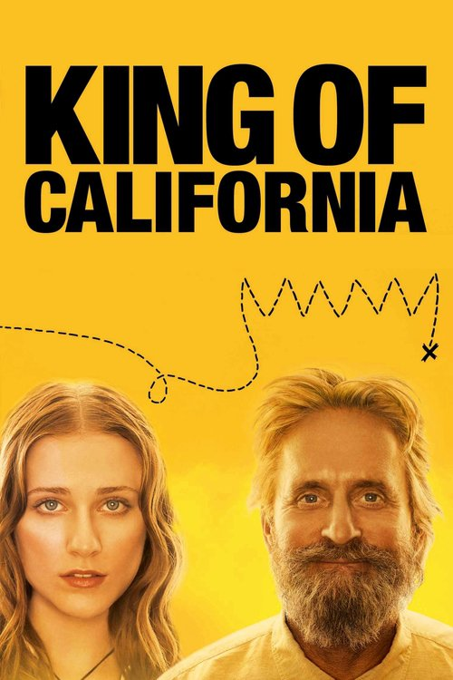 """Poster for the movie """"King of California"""""""