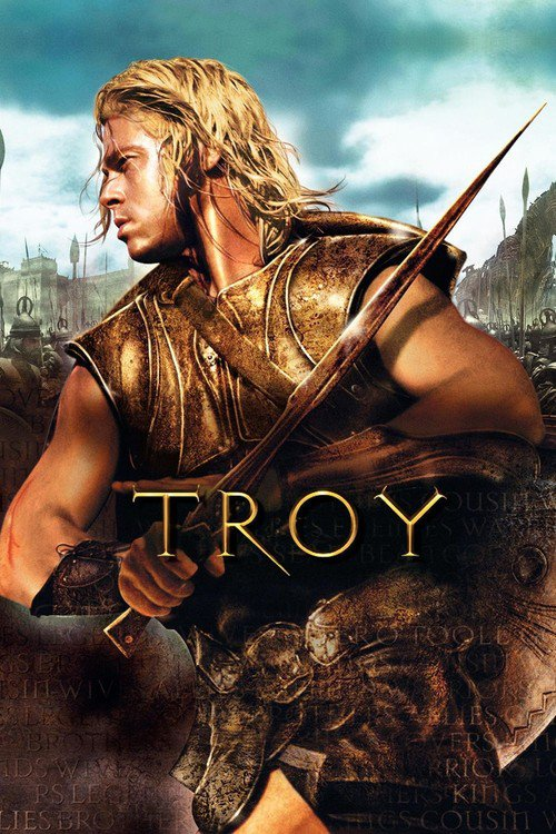 "Poster for the movie ""Troy"""