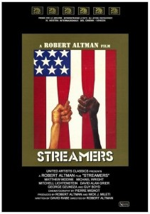 "Poster for the movie ""Streamers"""