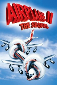 "Poster for the movie ""Airplane II : The Sequel"""
