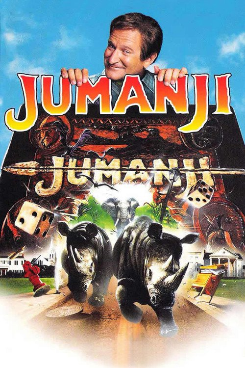 "Poster for the movie ""Jumanji"""