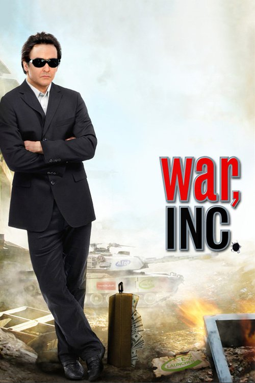 """Poster for the movie """"War, Inc."""""""