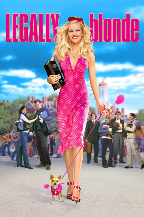 "Poster for the movie ""Legally Blonde"""