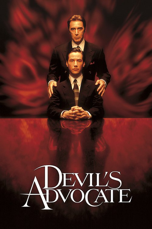 """Poster for the movie """"The Devil's Advocate"""""""