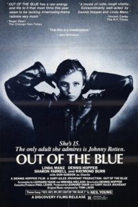 "Poster for the movie ""Out of the Blue"""