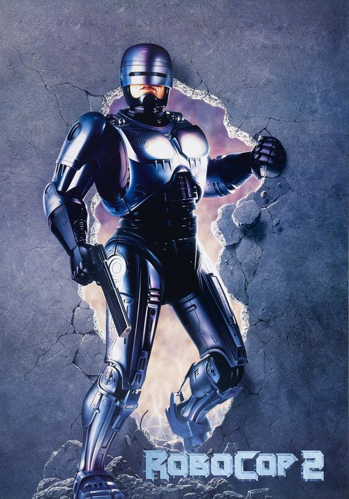 "Poster for the movie ""RoboCop 2"""