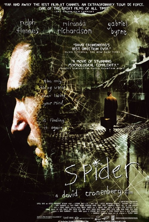 """Poster for the movie """"Spider"""""""