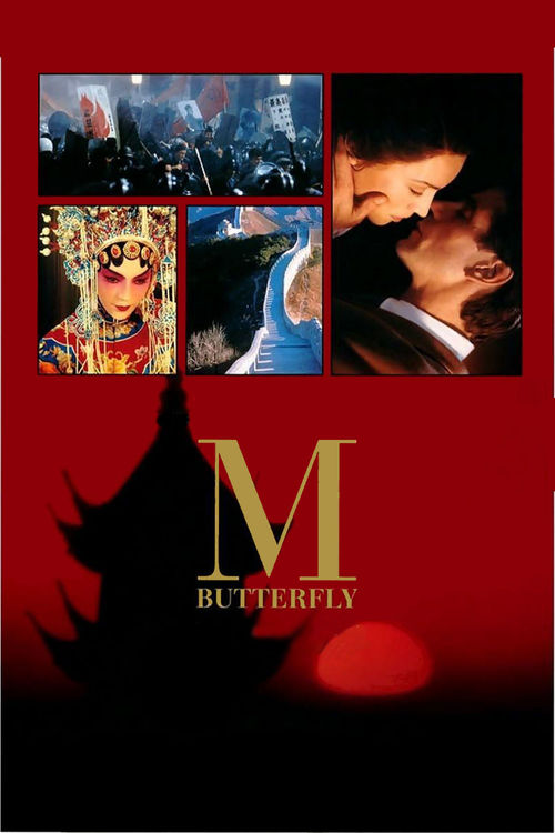 "Poster for the movie ""M. Butterfly"""