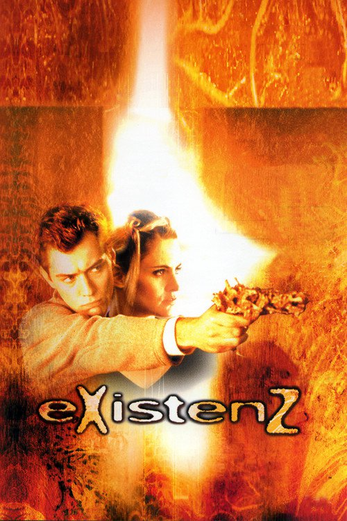 """Poster for the movie """"eXistenZ"""""""