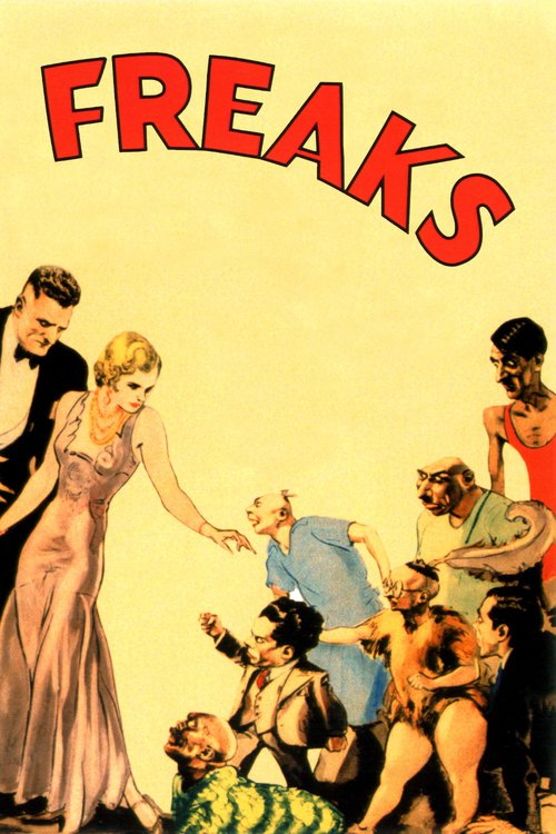 """Poster for the movie """"Freaks"""""""