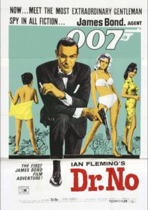 "Poster for the movie ""Dr. No"""