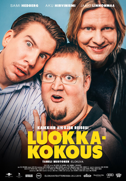 "Poster for the movie ""Luokkakokous"""