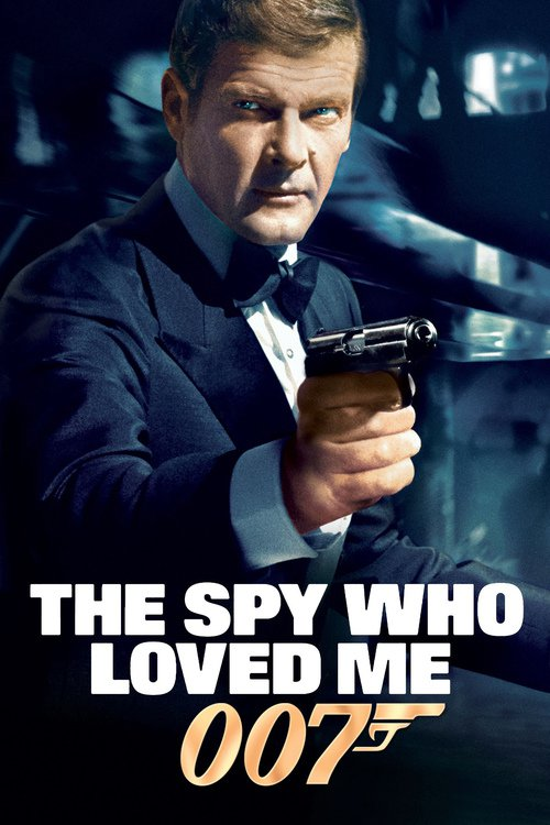 """Poster for the movie """"The Spy Who Loved Me"""""""