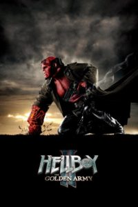 "Poster for the movie ""Hellboy II: The Golden Army"""