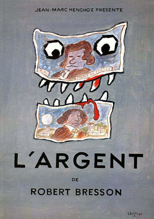 """Poster for the movie """"L'argent"""""""