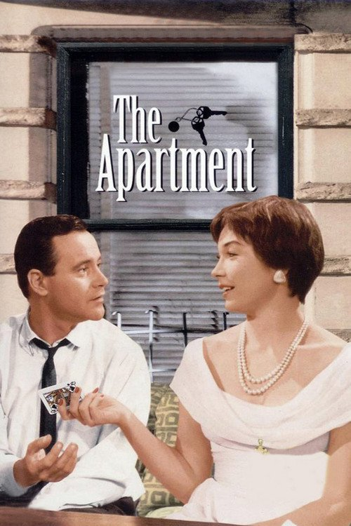 """Poster for the movie """"The Apartment"""""""