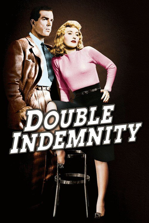 "Poster for the movie ""Double Indemnity"""