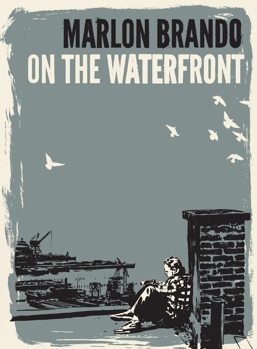 "Poster for the movie ""On the Waterfront"""