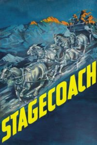 "Poster for the movie ""Stagecoach"""