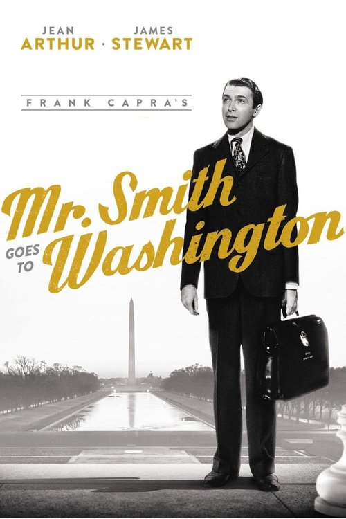 "Poster for the movie ""Mr. Smith Goes to Washington"""