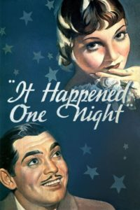 "Poster for the movie ""It Happened One Night"""