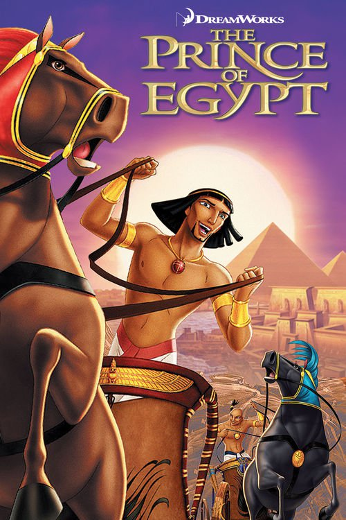 """Poster for the movie """"The Prince of Egypt"""""""