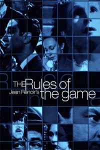 "Poster for the movie ""The Rules of the Game"""
