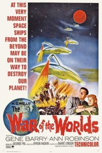 "Poster for the movie ""The War of the Worlds"""