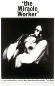 "Poster for the movie ""The Miracle Worker"""