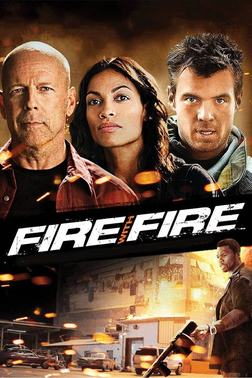 """Poster for the movie """"Fire with Fire"""""""