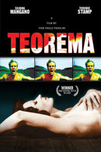 "Poster for the movie ""Teorema"""