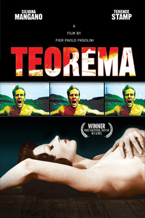 """Poster for the movie """"Teorema"""""""