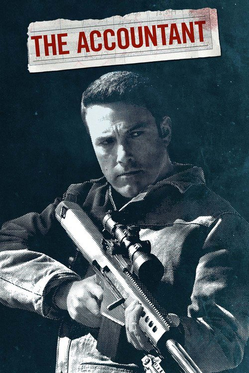 """Poster for the movie """"The Accountant"""""""