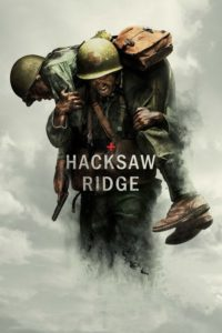 "Poster for the movie ""Hacksaw Ridge"""