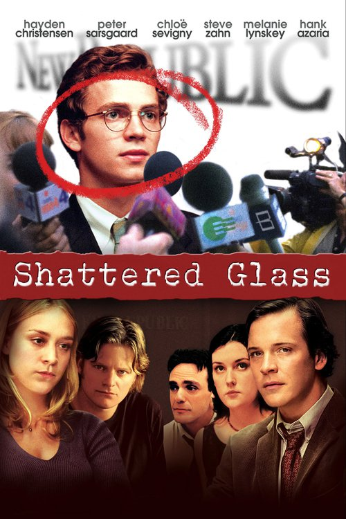 """Poster for the movie """"Shattered Glass"""""""
