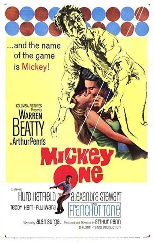 "Poster for the movie ""Mickey One"""