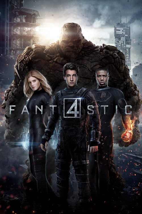"""Poster for the movie """"Fantastic Four"""""""