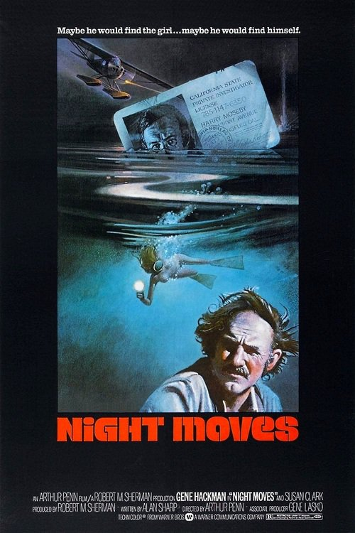 "Poster for the movie ""Night Moves"""