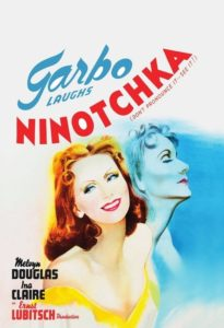 "Poster for the movie ""Ninotchka"""