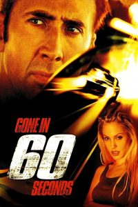 "Poster for the movie ""Gone In Sixty Seconds"""