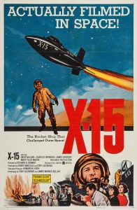 "Poster for the movie ""X-15"""