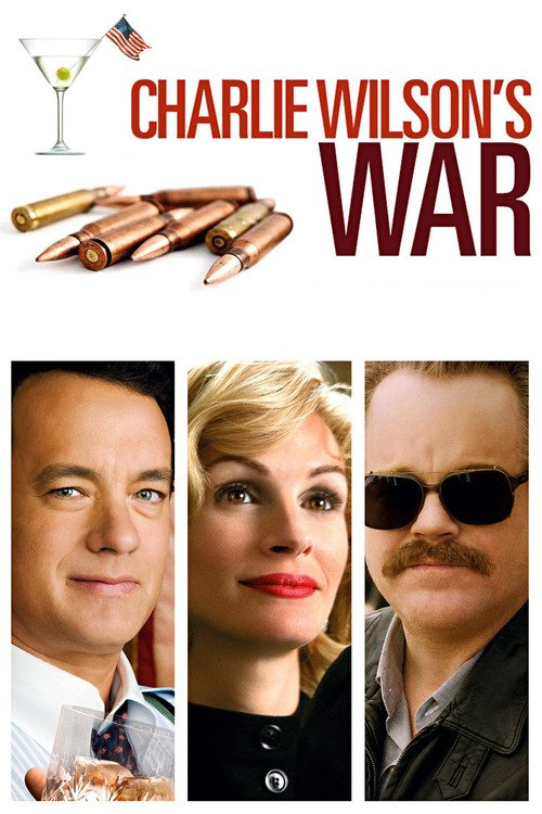 "Poster for the movie ""Charlie Wilson's War"""
