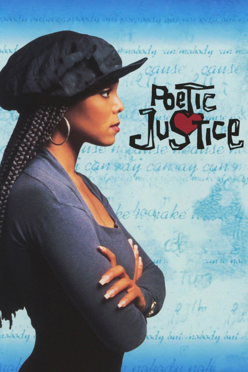 "Poster for the movie ""Poetic Justice"""