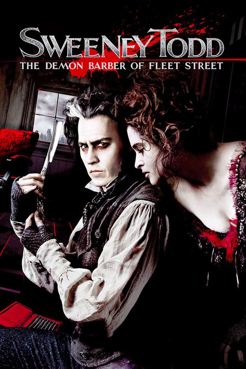 """Poster for the movie """"Sweeney Todd: The Demon Barber of Fleet Street"""""""