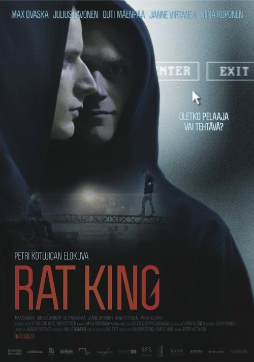 "Poster for the movie ""Rat King"""