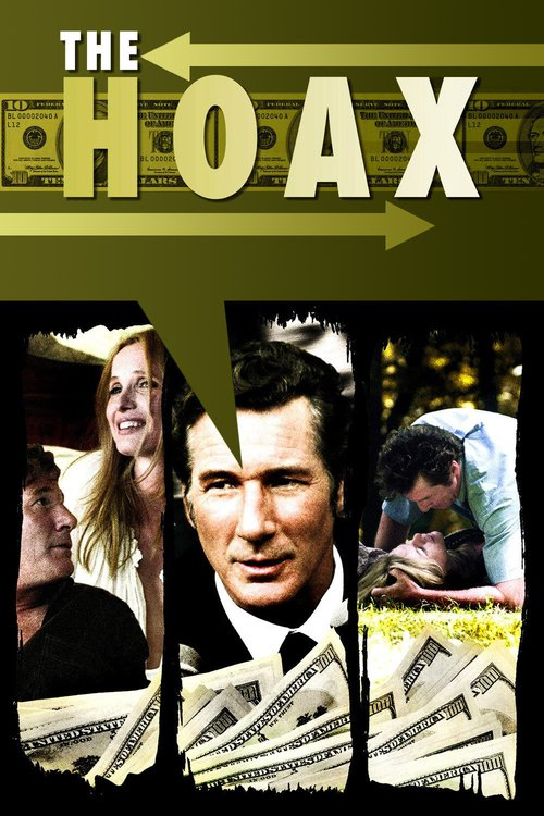 "Poster for the movie ""The Hoax"""