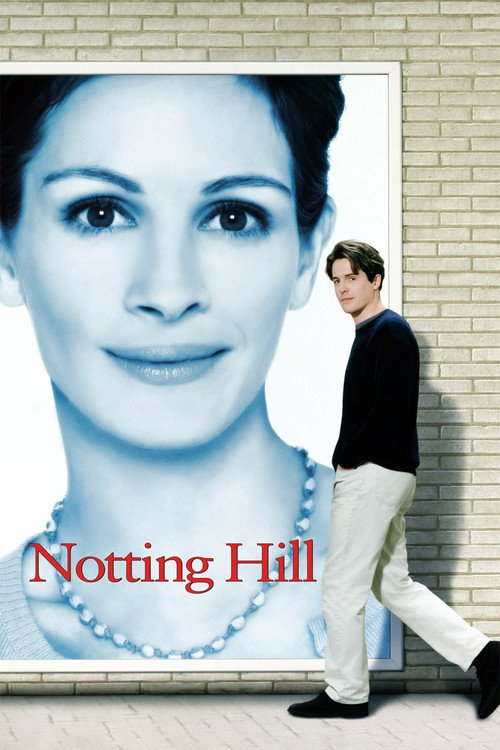 """Poster for the movie """"Notting Hill"""""""